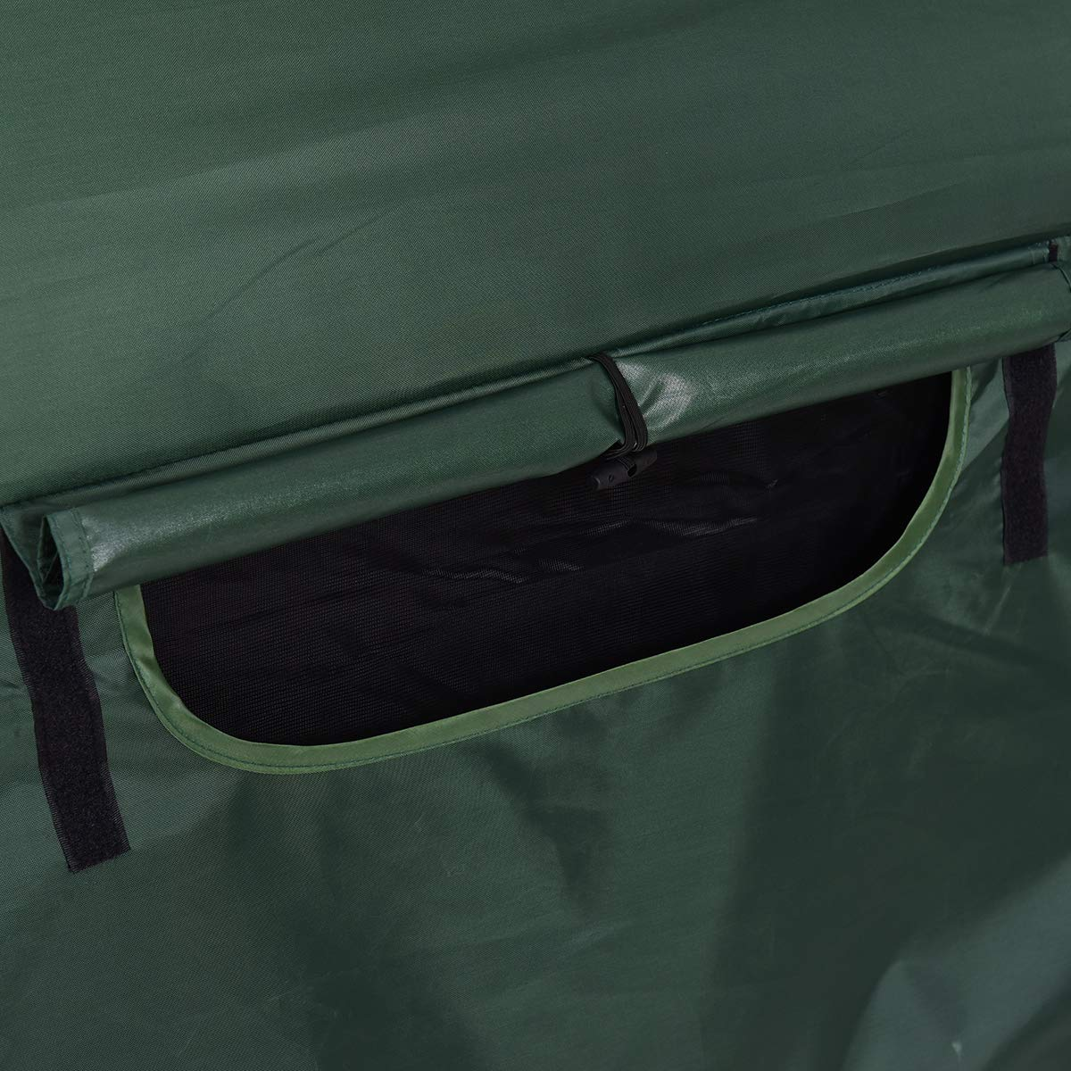 GYMAX Tent Cot, 1 Person Foldable Camping Waterproof Shelter with Window Carry Bag by GYMAX (Image #6)