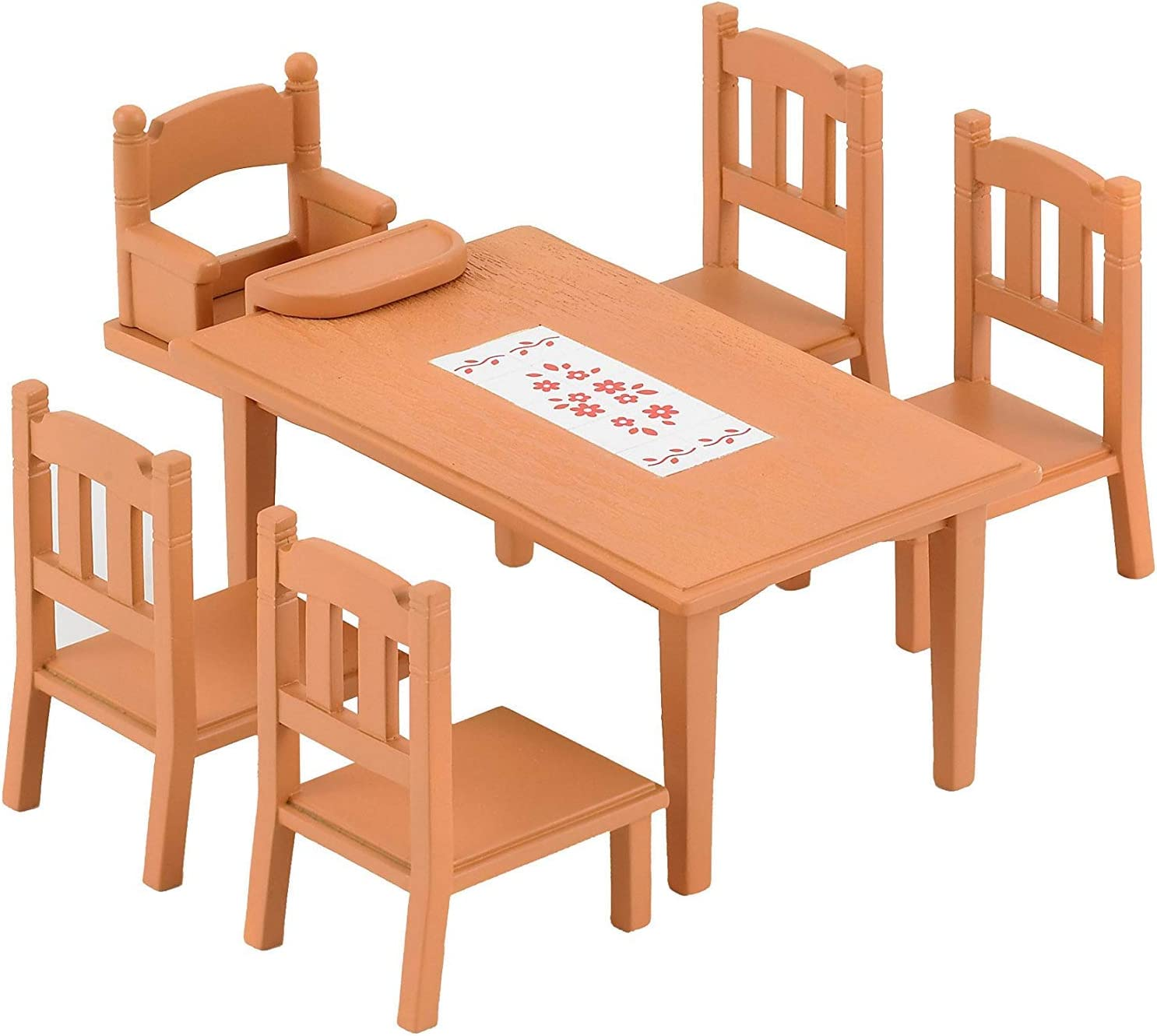 Amazon.es: Sylvanian Families 4506 - Mesa y sillas de comedor ...