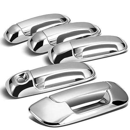 Amazon Com For Dodge Ram 4dr Tailgatedoor Handle Cover Chrome