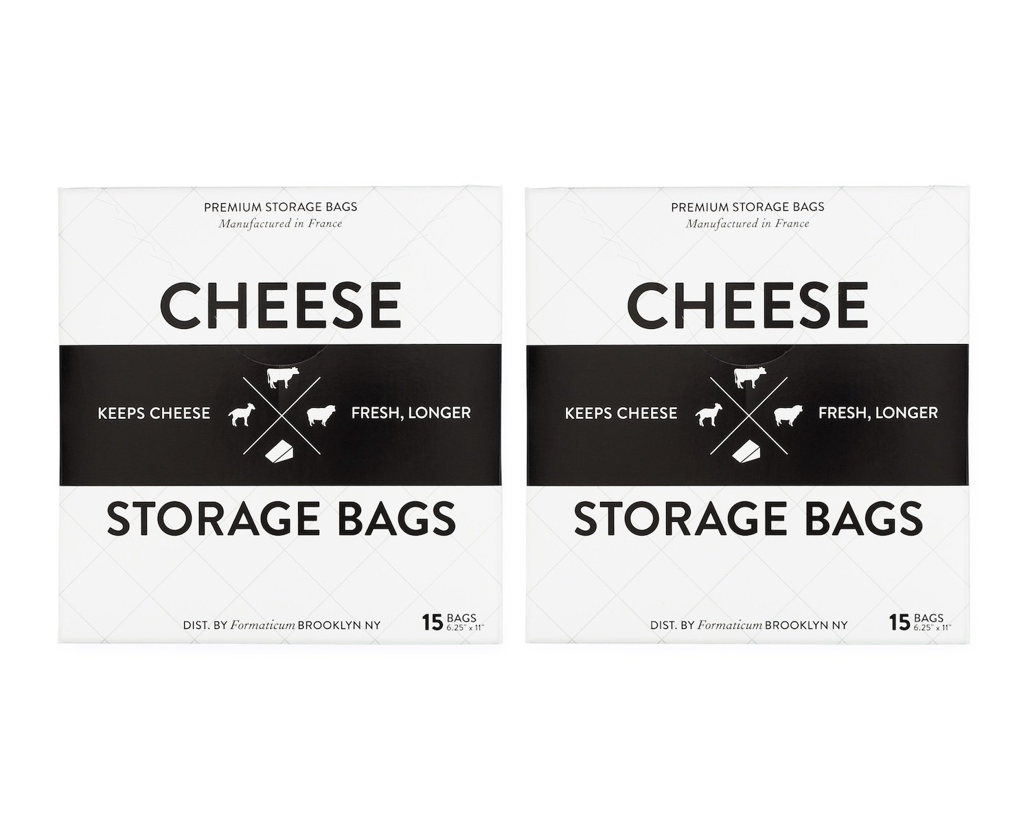 Formaticum Cheese Storage Bags 30 Count