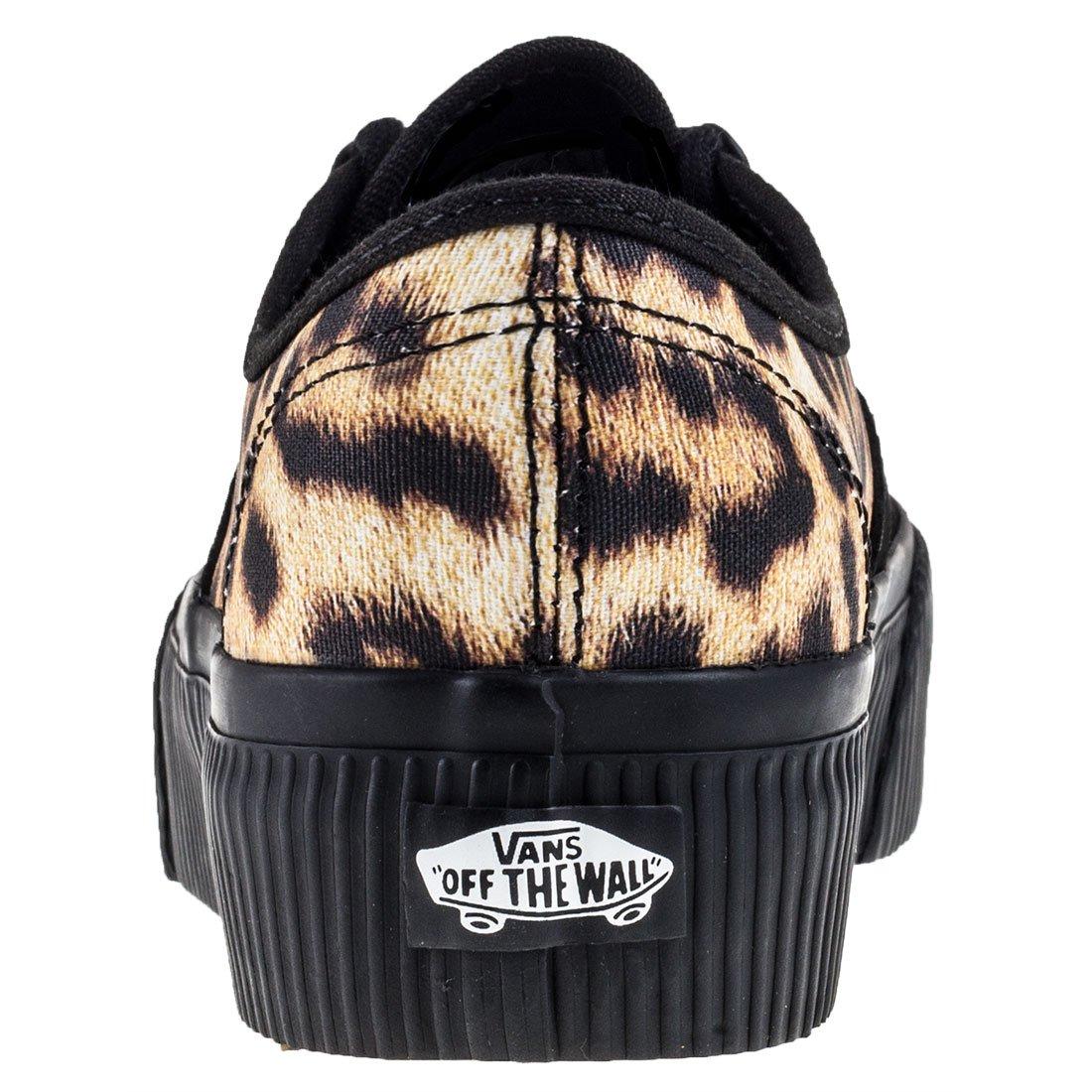 1b32f1a7c Vans Authentic Platform 2.0 Zapatillas Negro-Leopardo EU40  Amazon.es   Zapatos y complementos