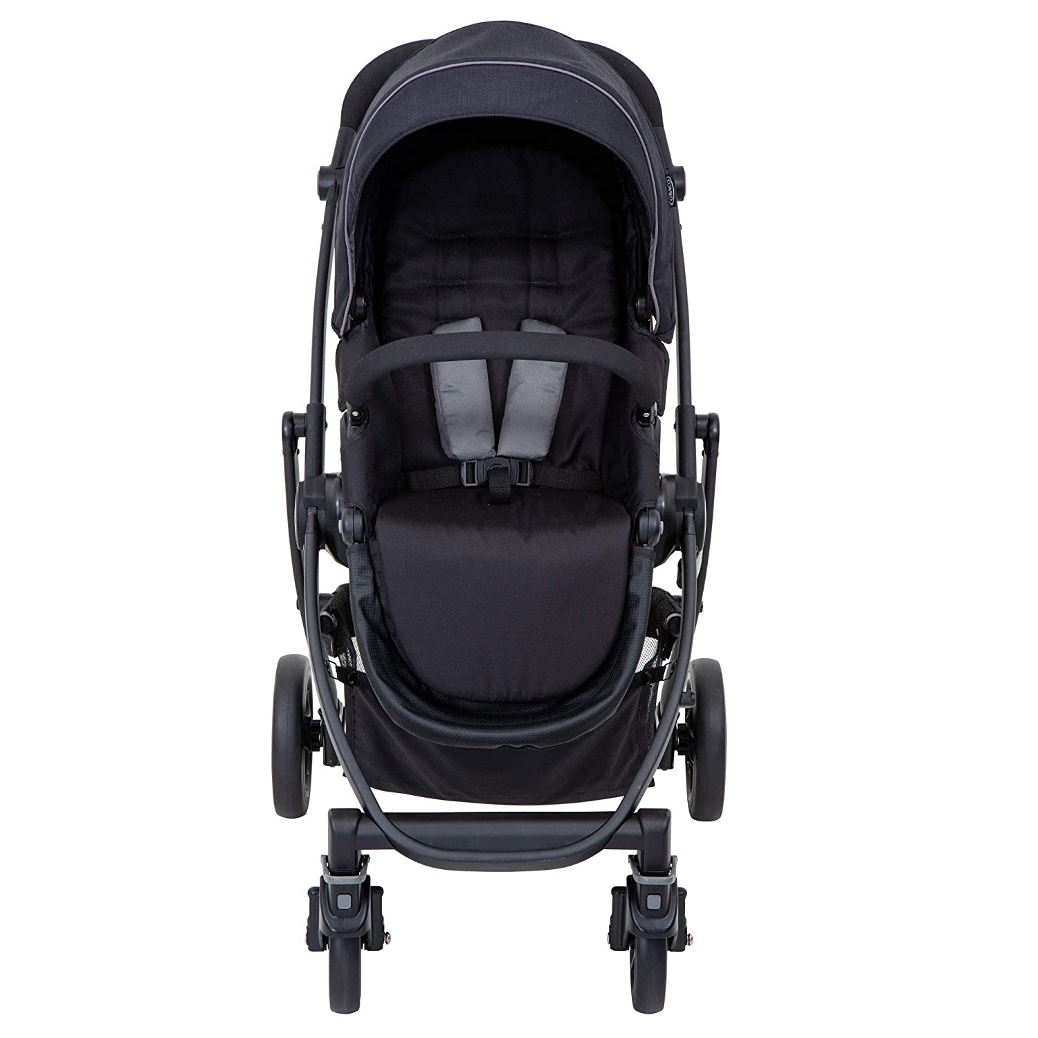 Graco Evo Travel System Including Footmuff /& Raincover Mineral