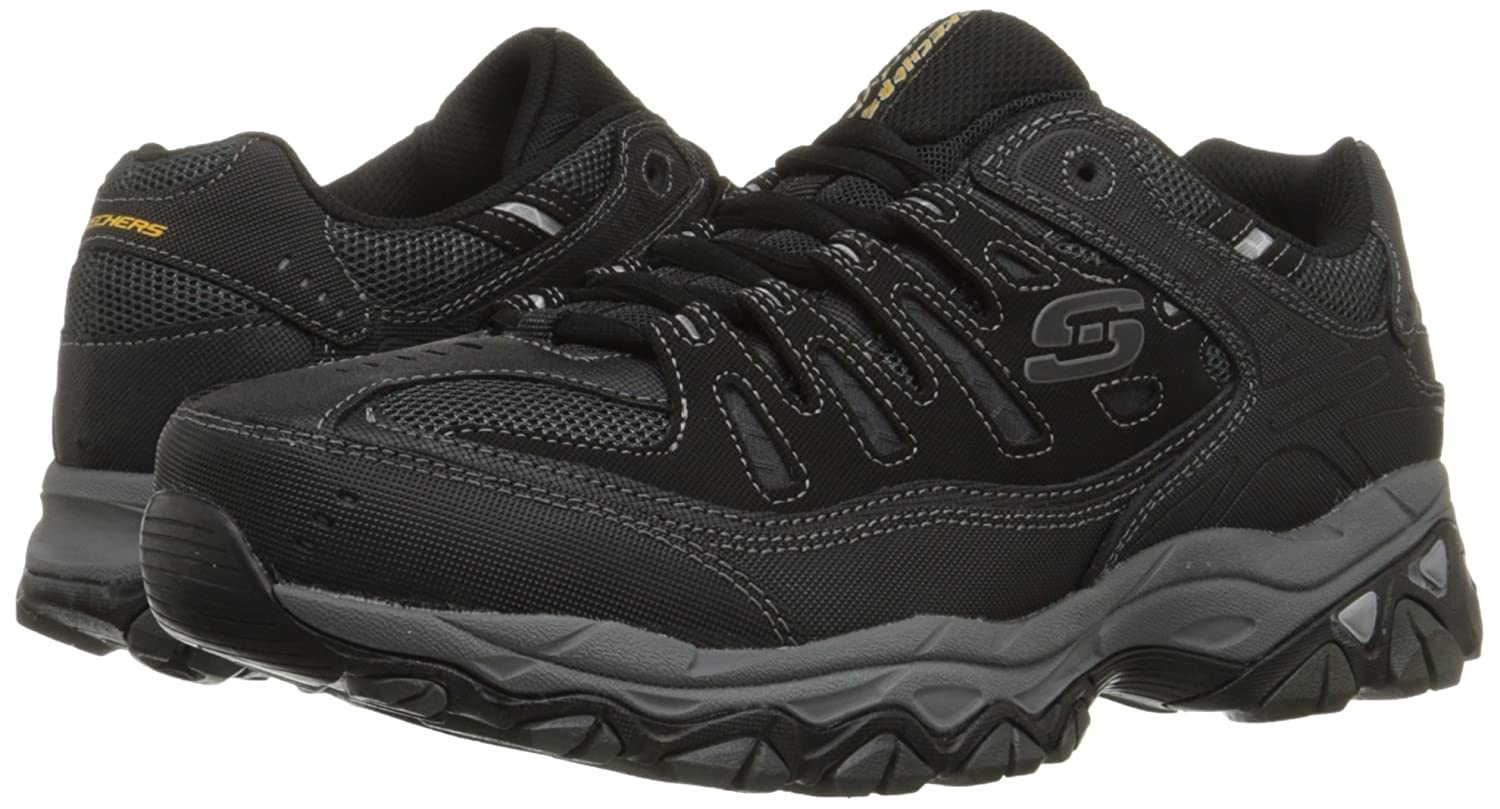 Skechers-Afterburn-Memory-Foam-M-Fit-Men-039-s-Sport-After-Burn-Sneakers-Shoes thumbnail 8
