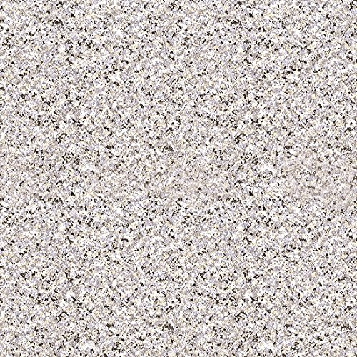 Magic Cover Self-Adhesive Vinyl Contact Paper, Shelf and Drawer Liner, 18-inches by 20-Feet, Granite Silver