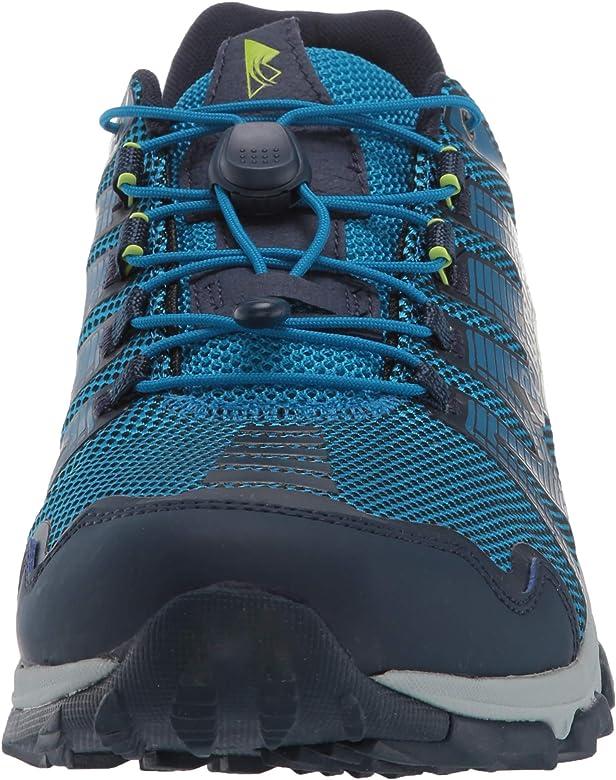 Columbia Mountain Masochist IV, Zapatillas de Trail Running para Hombre, Azul (Dark Compass, Bright Green), 45 EU: Amazon.es: Zapatos y complementos