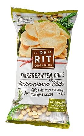 De Rit Kichererbsen Chips Rosmarin 75g Amazonde Lebensmittel