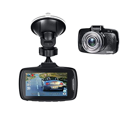 Amazon.com: inextstation Dash Cam Full HD 1080p Espejo ...