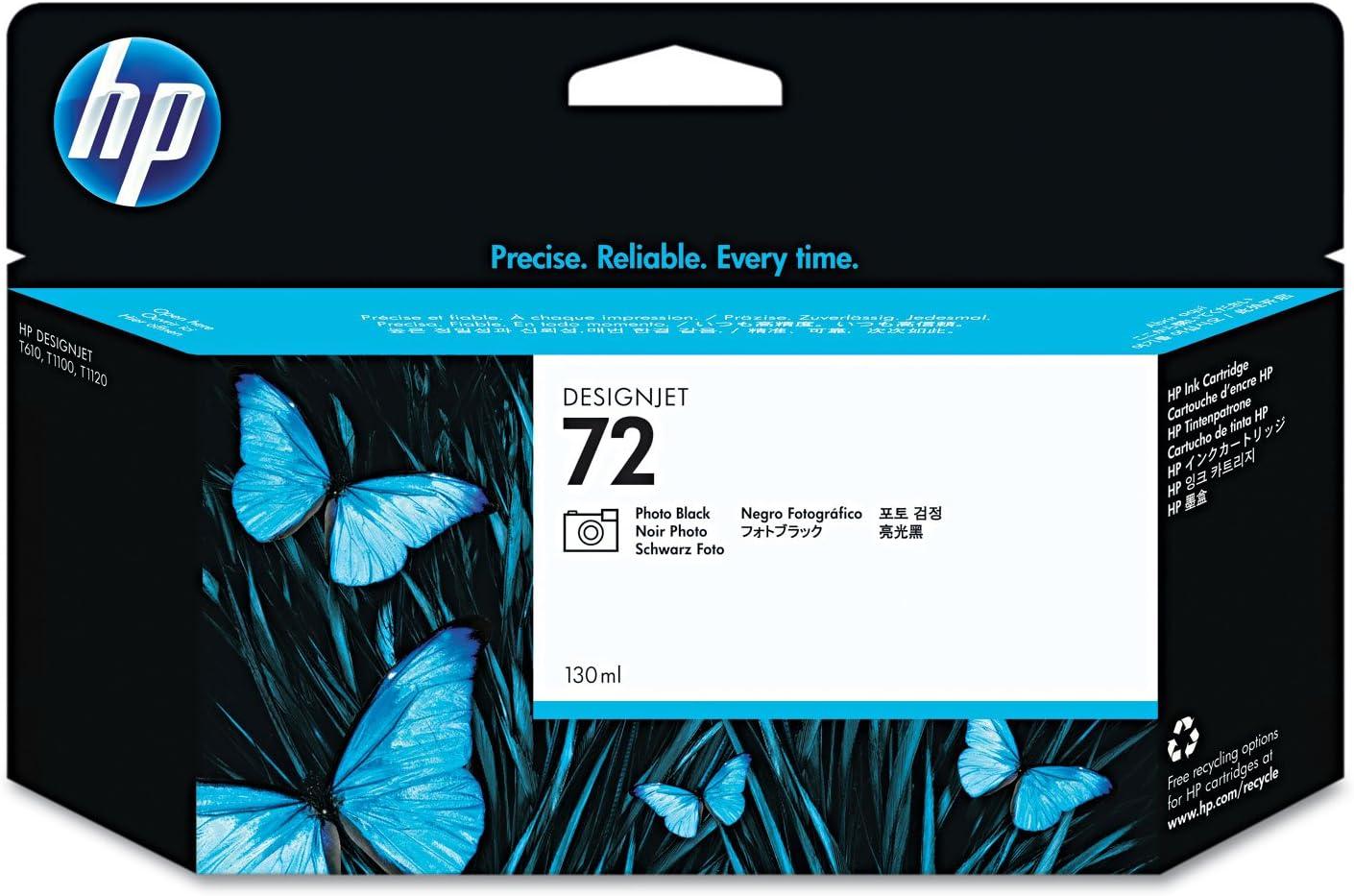 C9370A HP Designjet T1100 Cartucho de Tinta foto negro: Amazon.es: Oficina y papelería