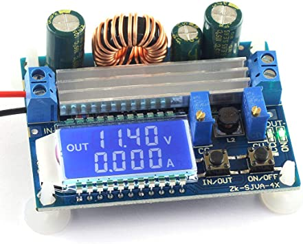 2X DC-DC 5A Boost Buck Step-Up//Down Constant Voltage Current Power Supply Module