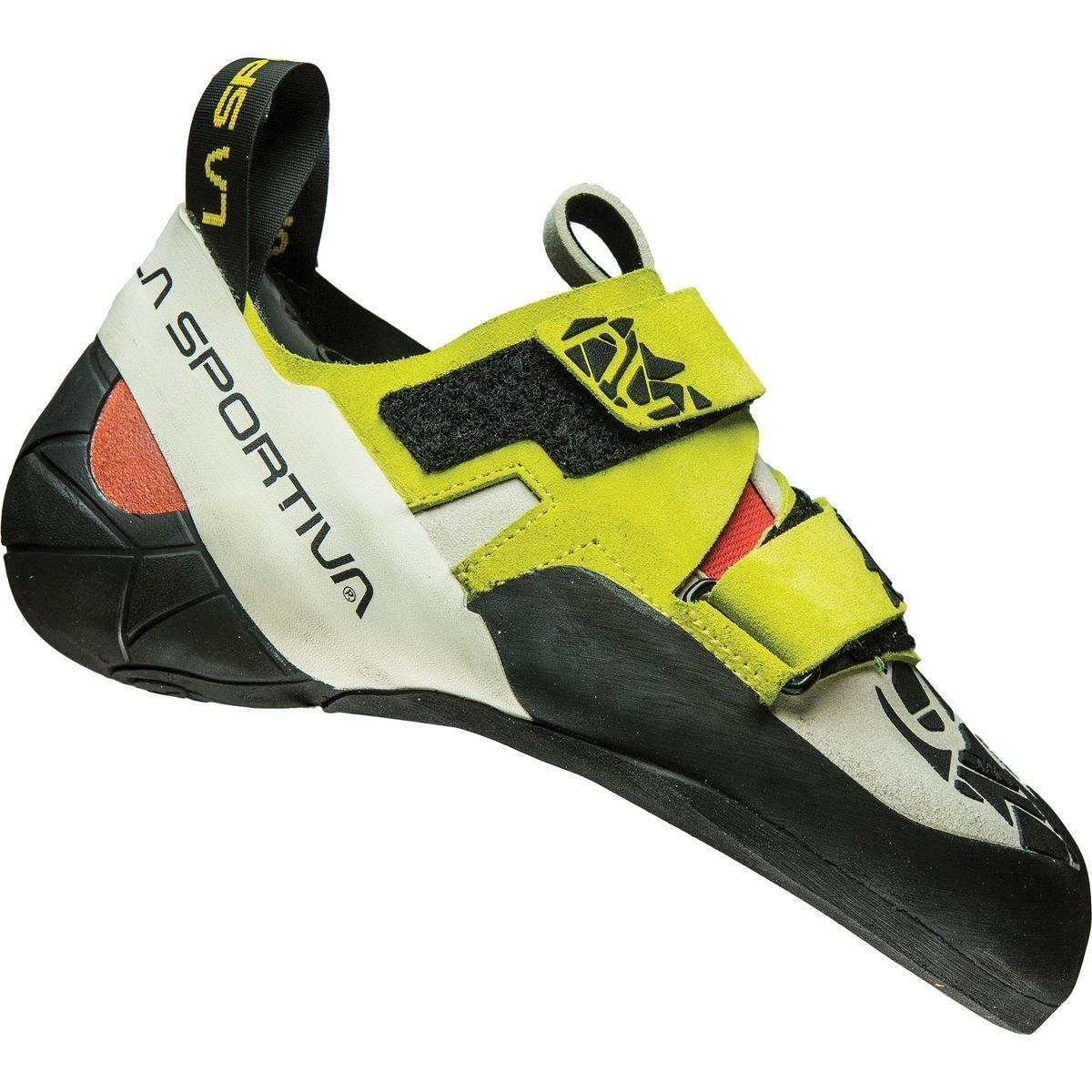 La Sportiva Otaki Climbing Shoe - Women's B01015ZZYY 34 M EU|Sulphur / Coral