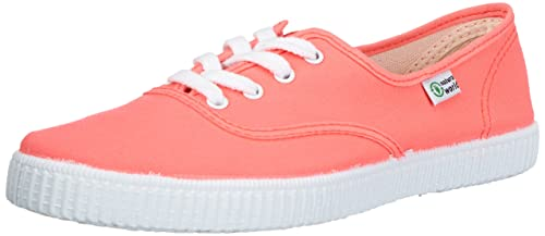 Natural World INGLES - Zapatillas de casa de lona infantil, color rosa, talla 30: Amazon.es: Zapatos y complementos