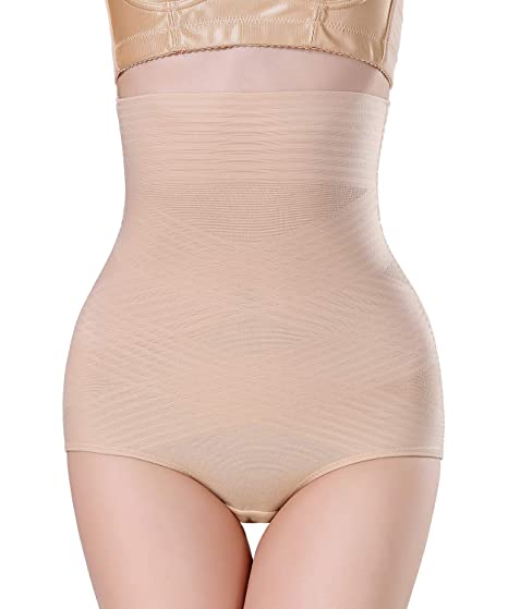 5eb1ec630eaec Image Unavailable. Image not available for. Color  AGROSTE Womens Shapewear  Panties Bodysuit Body Shaper High Waist Tummy Control Seamless ...