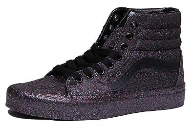 8b3987382ade6b Vans Damen Sneaker Sk8Hi Glitter Canvas Sneaker