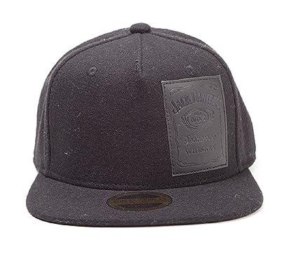 c6237027 Amazon.com: Jack Daniels Baseball Cap Woven Bottle Logo Official ...