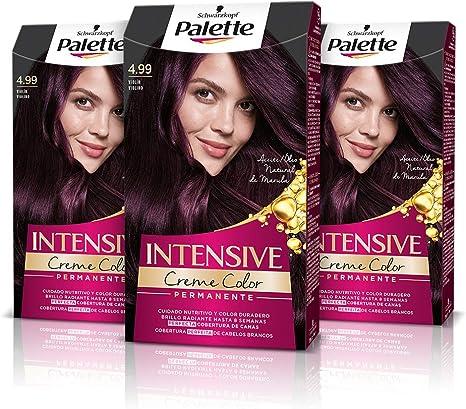 Schwarzkopf Palette Intensive Creme Color - Tono 4.99 cabello ...