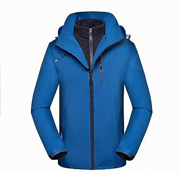ハイキングアウトドア用インナーフード付き1防風冬のジャケットウインドブレーカーメンズ防水スキージャケット3