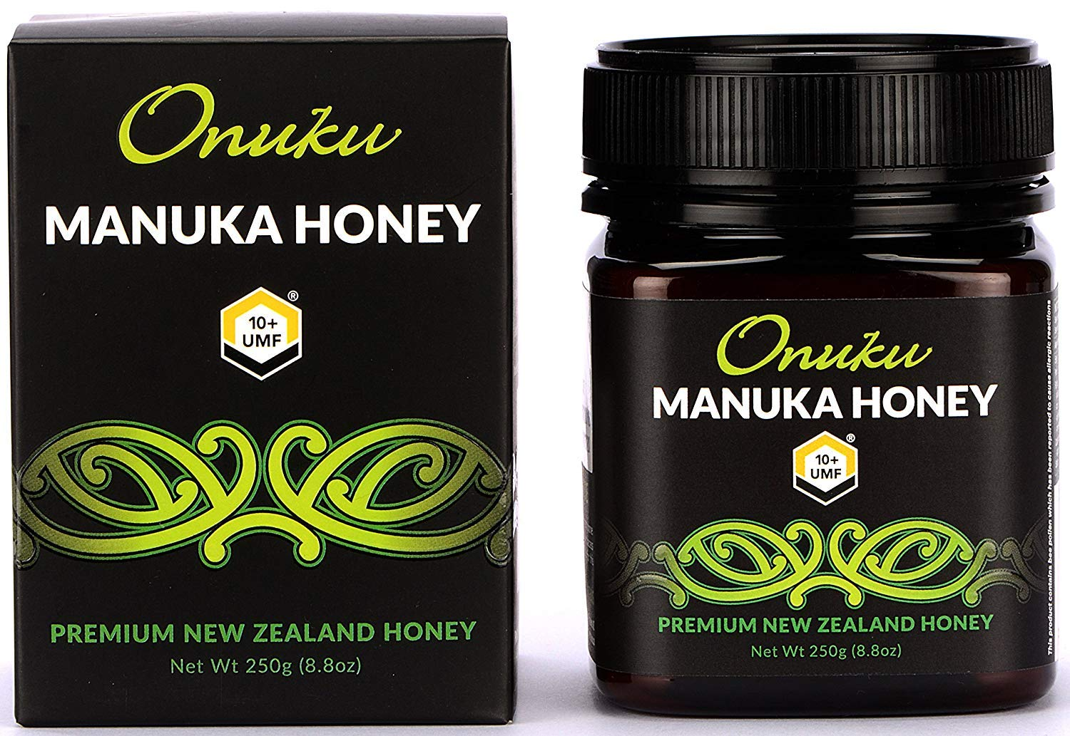 Onuku Manuka Honey Certified 10+ UMF (MGO 264+), New Zealand, 250g (8.8oz)