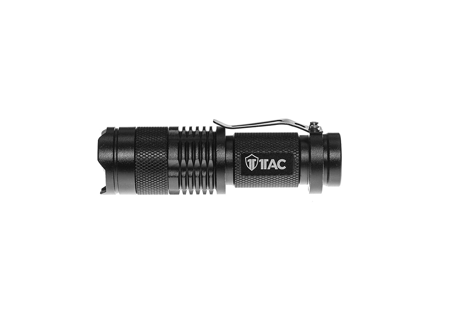 1TAC TC800 5W High Power Mini Tactical Flashlight with CREE XPE LED | 320 Lumens, Zoom, 3 Light Modes, Ultra Bright and Waterproof