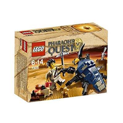 LEGO Pharaohs Quest Scarab Attack 7305: Toys & Games