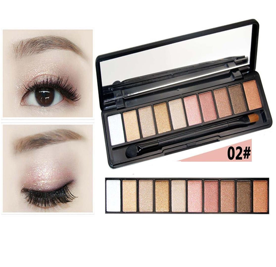 RY@ Cosmetics 10 color eyeshadow nude makeup color eyeshadow by