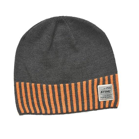 Stihl Men s Beanie Grey gray One size  Amazon.co.uk  Clothing af04f4c499d