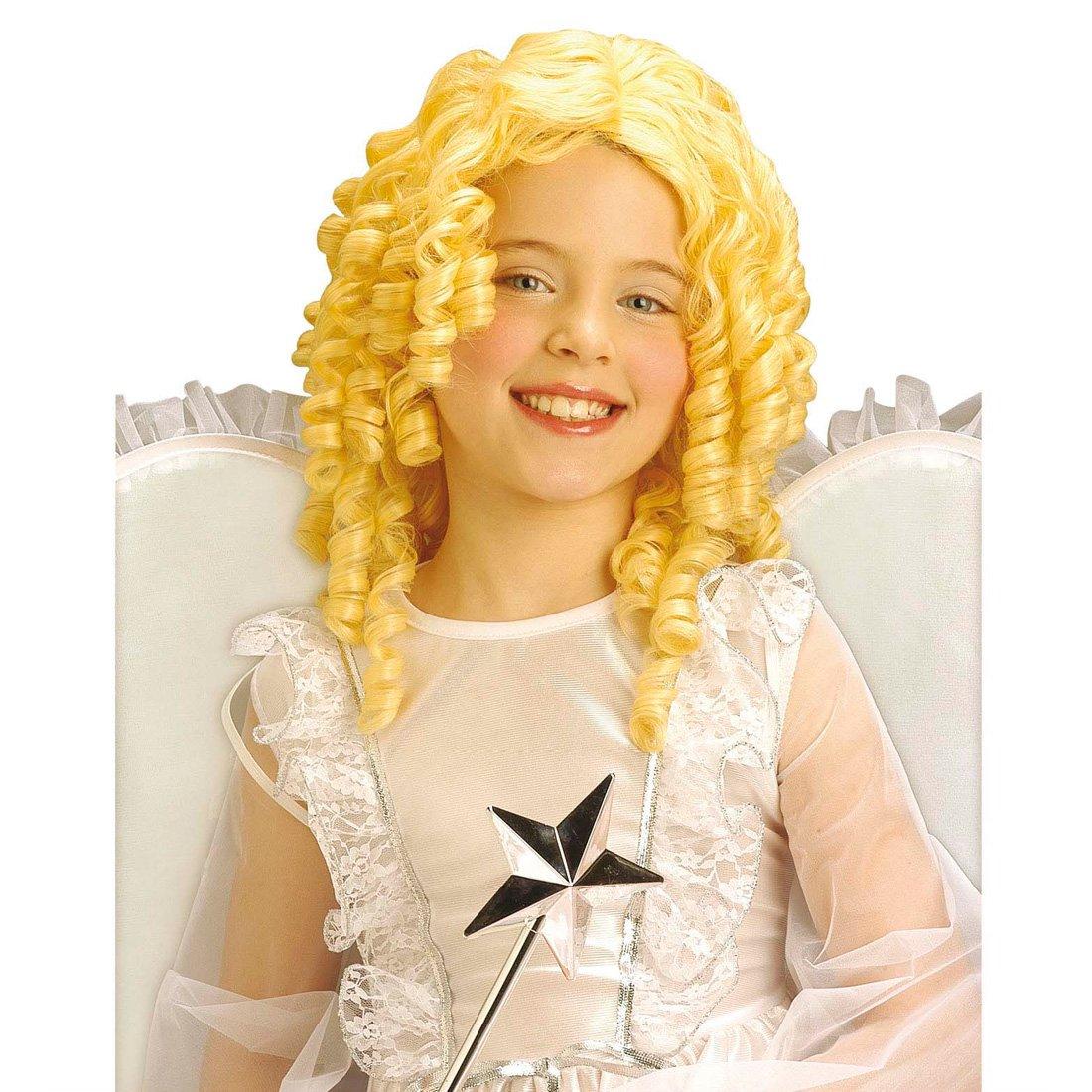 Engelsperücke blond Lockenperücke Engel Perücke Locken Engelperücke Weihnachten
