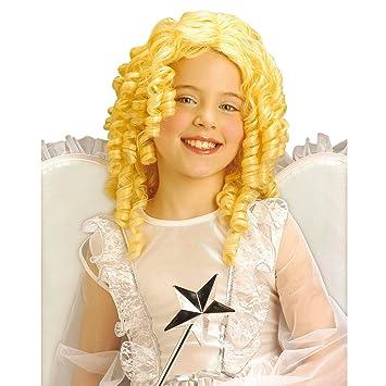 La peluca de la peluca para niños con diseño de ángel Navideño de la peluca de