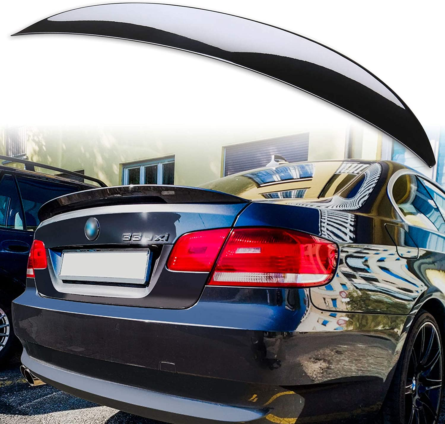 High Kick Trunk Lid Spoiler Fits 07-13 BMW E92 2Dr P Style Painted #A52 ABS