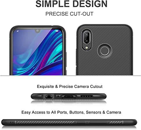 Ibetter Für Huawei P Smart 2019 Hülle Ultra Thin Elektronik