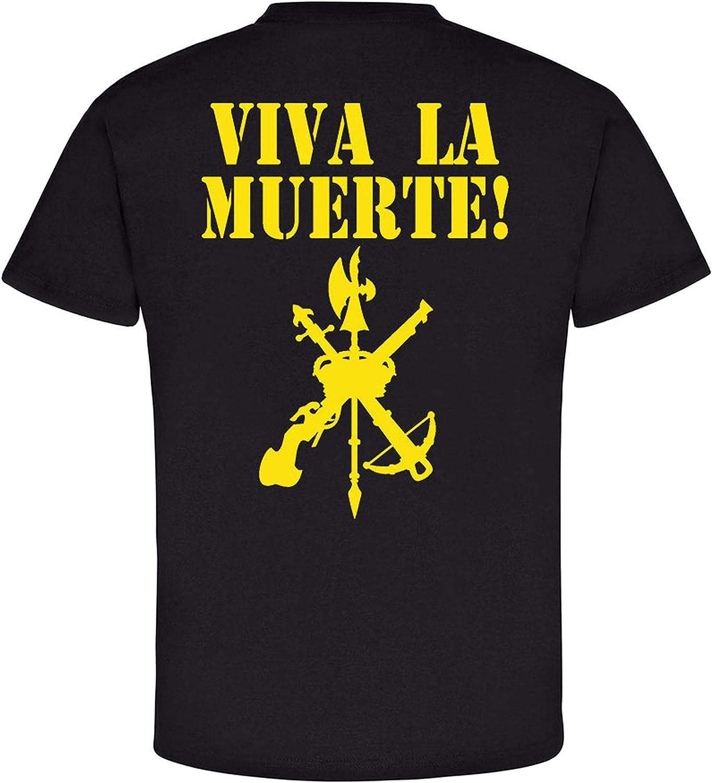 Legión Espanola Viva la Muerta - Camiseta de legión española (#6616): Amazon.es: Ropa y accesorios