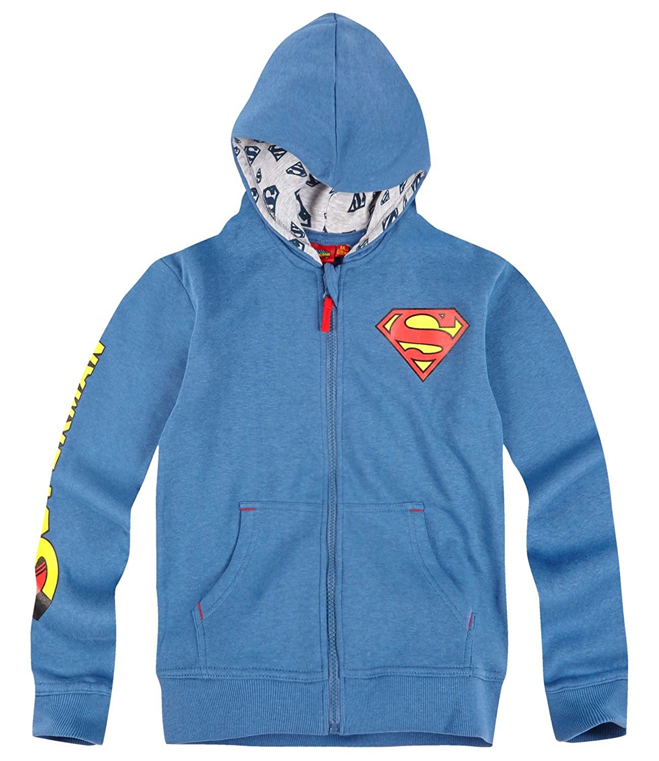 Superman Ragazzi Felpa 2016 Collection - blu