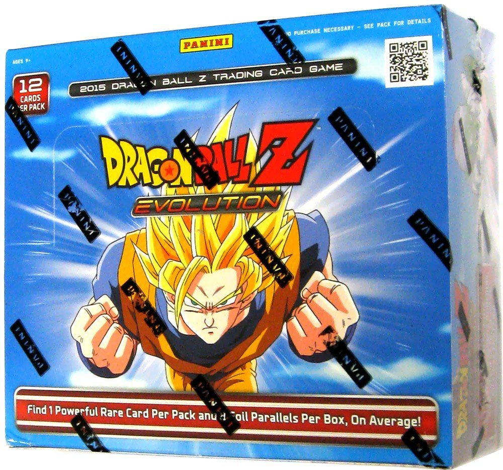 DBZ EVOLUTION Booster Box - 2015 Dragonball Z TCG Card Game! 24 packs!!