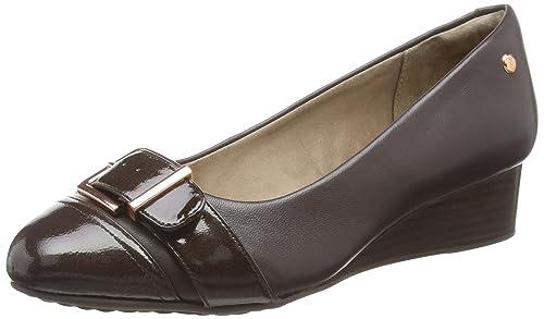 Hw05802-601 Hush Puppies, Femme Chaussures Wedges, Brun (cuir Brun Foncé), 42 Eu