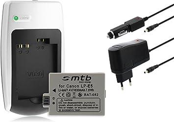 Chargeur Batterie Lp E5 Pour Canon Amazon Fr Photo Caméscopes