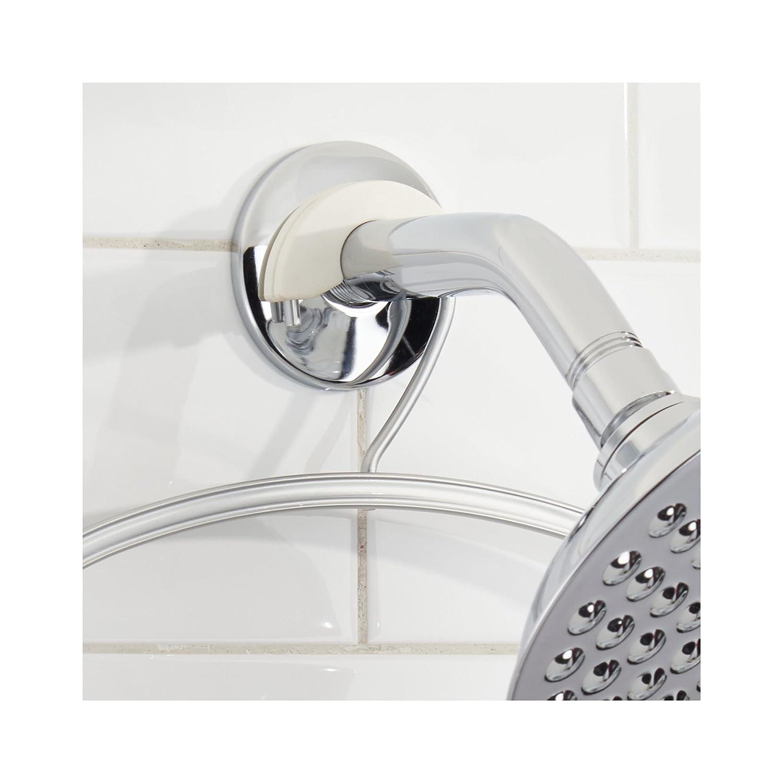 mDesign Estantería de ducha para colgar – Prácticos estantes para ducha sin  taladro – Baldas para a2817cd7b6c2