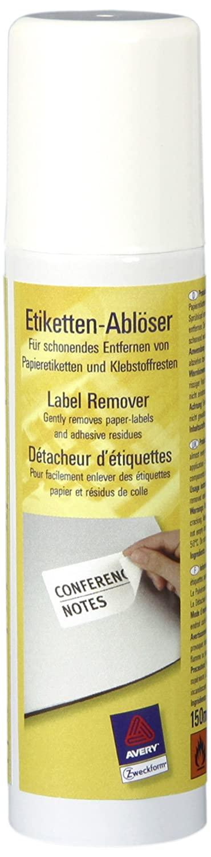 Avery 889270 Spray per Rimozione Etichetta Avery Tico Srl 3590 B002M2HP4S