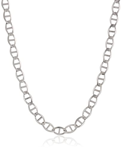 mens necklaces gold p v chain necklace in mariner