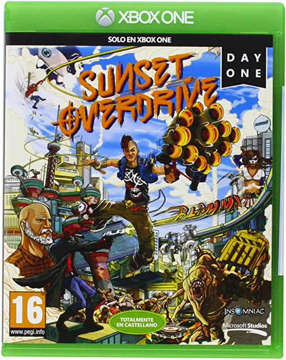 Sunset Overdrive: Day One Edition: Amazon.es: Videojuegos