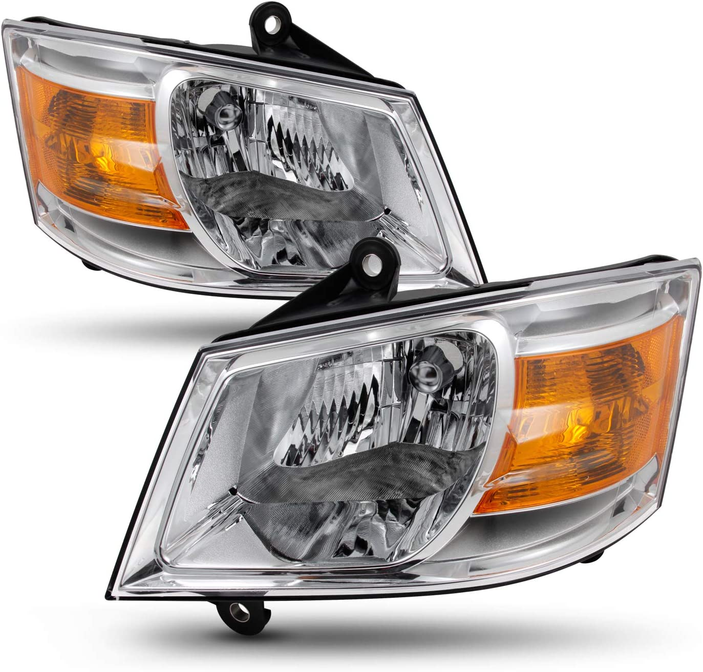 For Dodge Grand Caravan 2008 2009 2010 H13 LED Headlight Hi//Lo Beam Bulbs 8000K