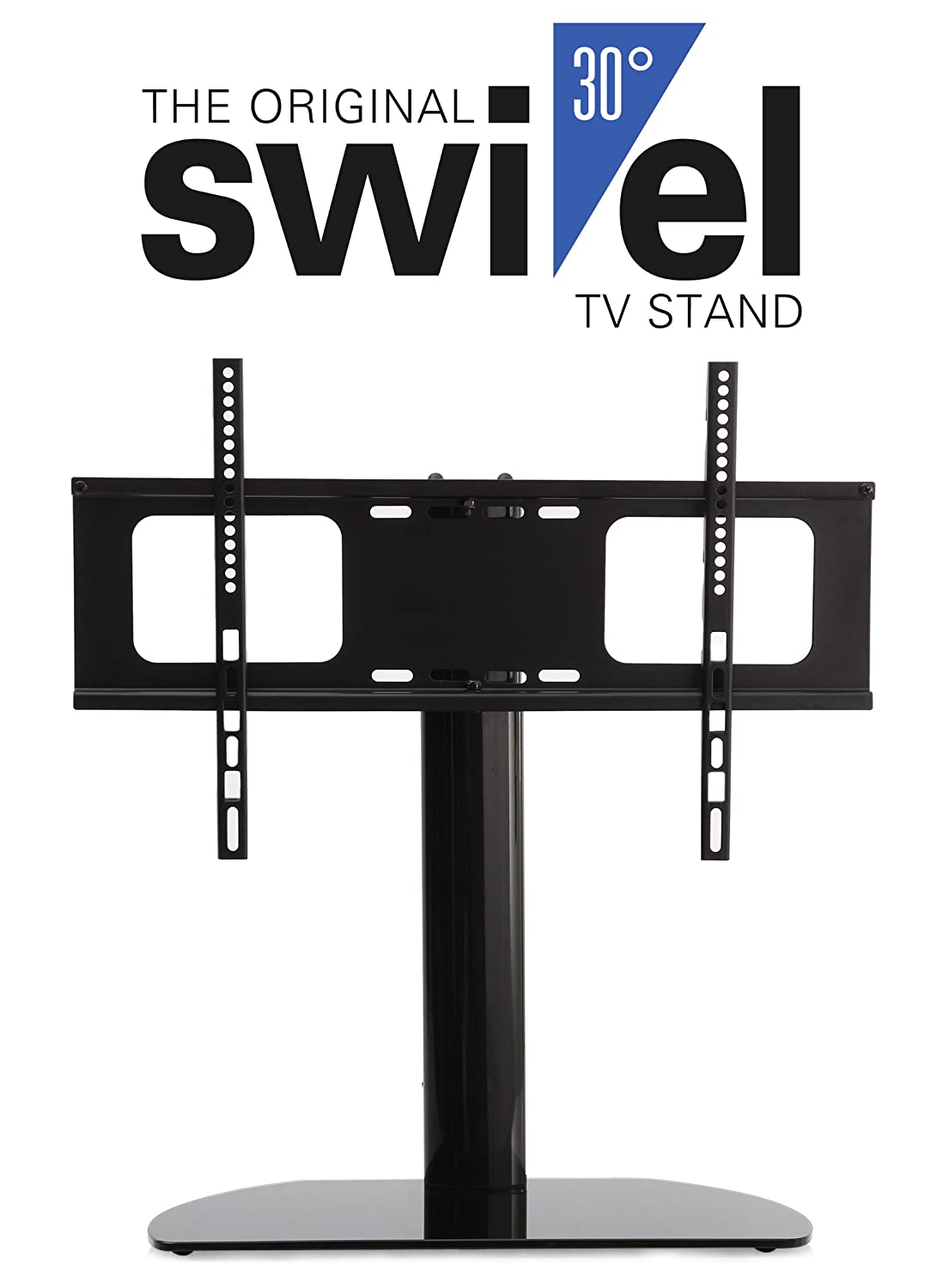 amazoncom hta3770 universal replacement tv standbase with swivel feature fits most 37 70 tvs flat panels lcd led electronics - Samsung Tv Base Stands
