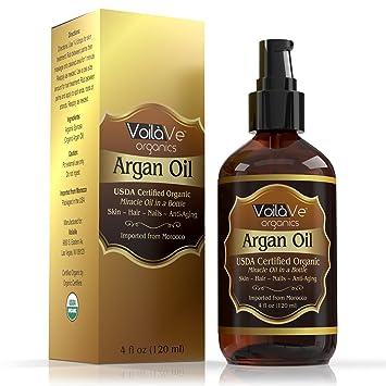 Moroccan Organic Argan Oil - No Odor, 1.0 oz. Bronson Eblume Collagen-Elastin 14:1 Anti Aging, Moisturizing Cream, 2 oz.