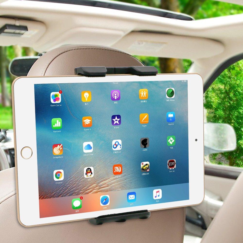 Amazon.com: Tryone Car Headrest Mount Holder, Tablet Headrest Mount ...