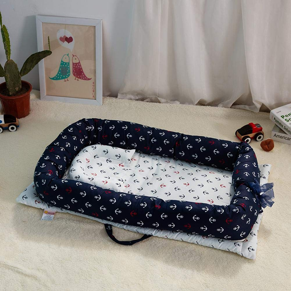 Reversible E Ideal para Jugar Cama para Cuna Infantil Lif/éUP Cama De Cuna Cuna para Beb/és Tipo Nido Viajar O Dormir para Beb/és De 0 A 6 Meses Lavable