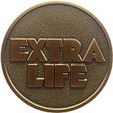 レディ・プレイヤー・ワンコイン、エクストラ・ライフ コイン 銅 Ready Player One Extra Life Coin Quarter - Bronze