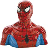 Westland Giftware Ceramic Cookie Jar, Spider-Man, Multicolor
