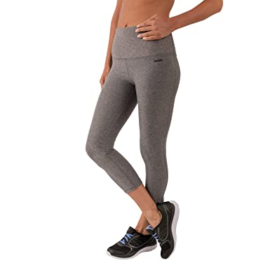 RBX Active Women's Body Contouring High Waisted Crop Capri ...