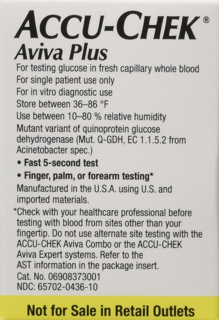 Accu-Chek Aviva Plus Mail Order 100 count by Roche (Image #3)