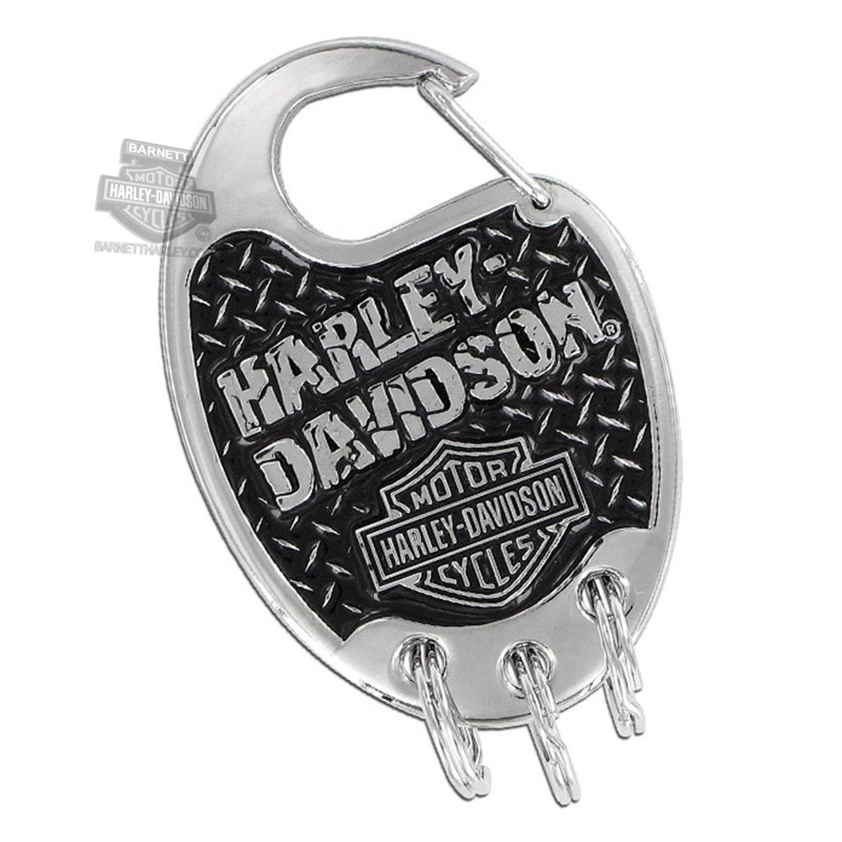 Harley-Davidson mosquetón Llavero w/Bar & Shield & Roto en ...