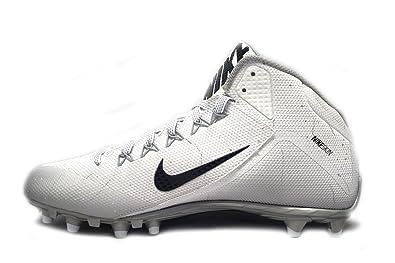 Nike Alpha Pro 2 3/4 TD Football Cleats (10.5 M US, White