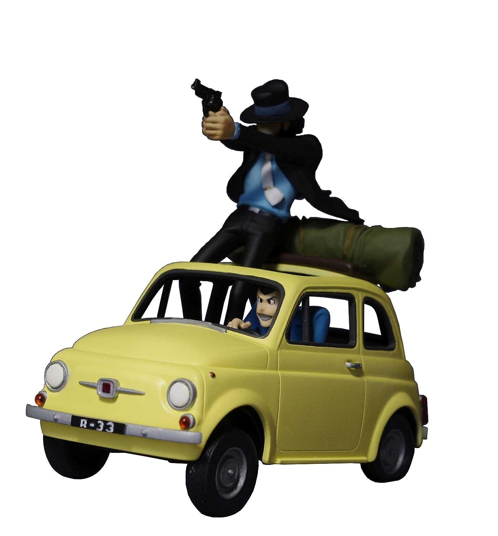 「ルパン三世 カリオストロの城」序盤のカーチェイスシーンを再現したフィギュアが発売。価格は15,660円  [738130642]YouTube動画>1本 ->画像>64枚
